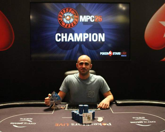 Arash Khosravi (Photo PokerStars)