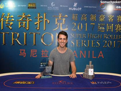 Koray Aldemir ships in the 2017 Triton SHR series Main Event title