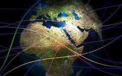 Continents Connections Connectedness Globe Connect