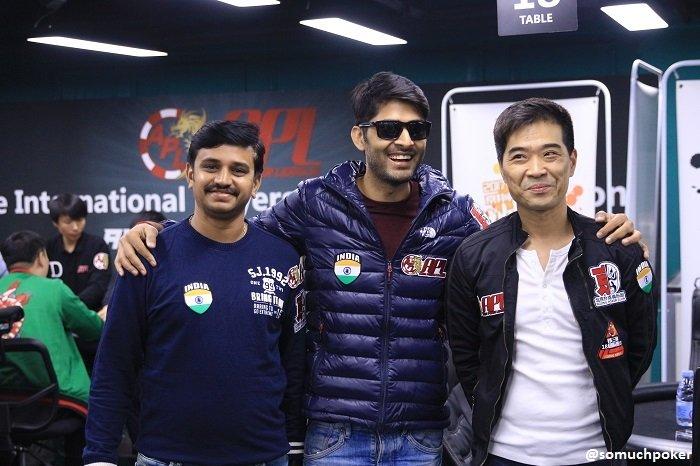 Vikram Verma (middle) & James Kim (right)