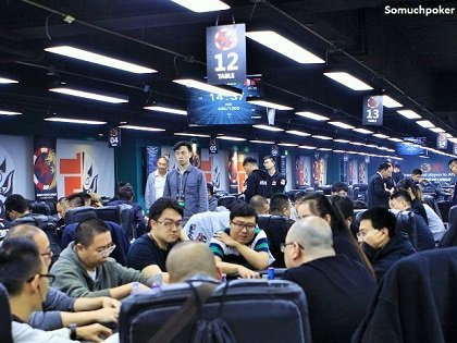 Massive field taking shape at the APL Main Event in Beijing