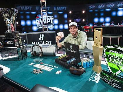 Daniel Weinman Claims Victory in the WPT Tournament of Champions