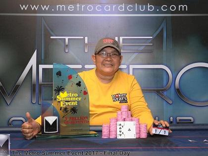 Mark Pagsuyuin tops the massive 1266 entries of the Metro Summer Event