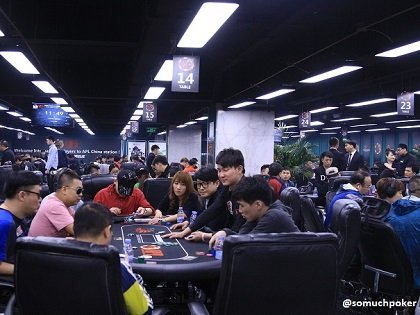 Numbers climbing at the Asia Poker League Main Event