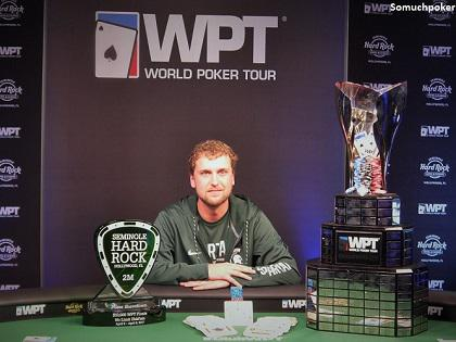 Ryan Riess Captures the $10,000 Seminole Hard Rock Poker Finale Title