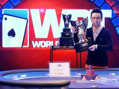 First major victory for Pete Chen at the inaugural WPT Beijing