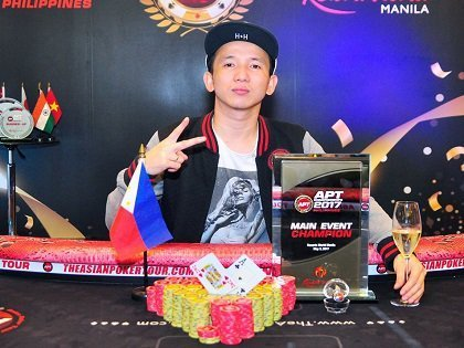 Filipino pro Mike Takayama wins his second APT Main Event title