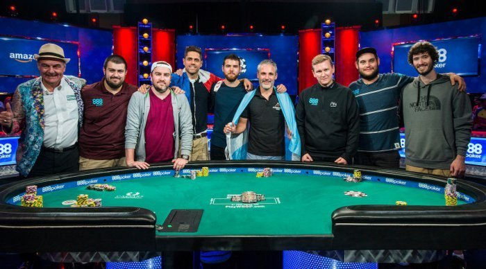 Main Event Final 9 - Photo WSOP