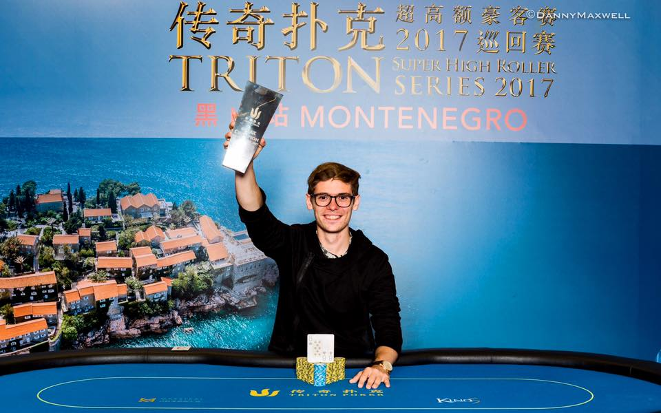 Fedor Holz - Photo Triton Poker