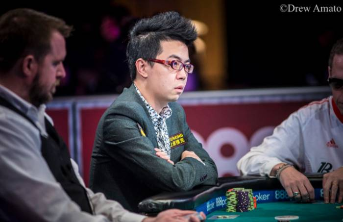 Pete Chen - Photo Drew Amato , Courtesy of WSOP