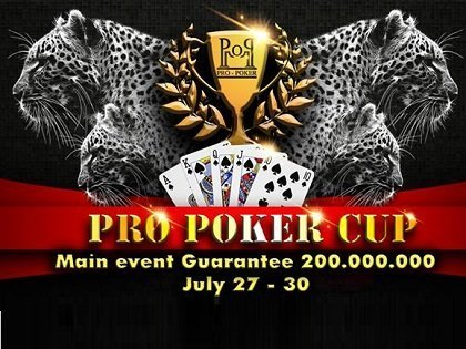 Pro Poker Cup – Official Schedule