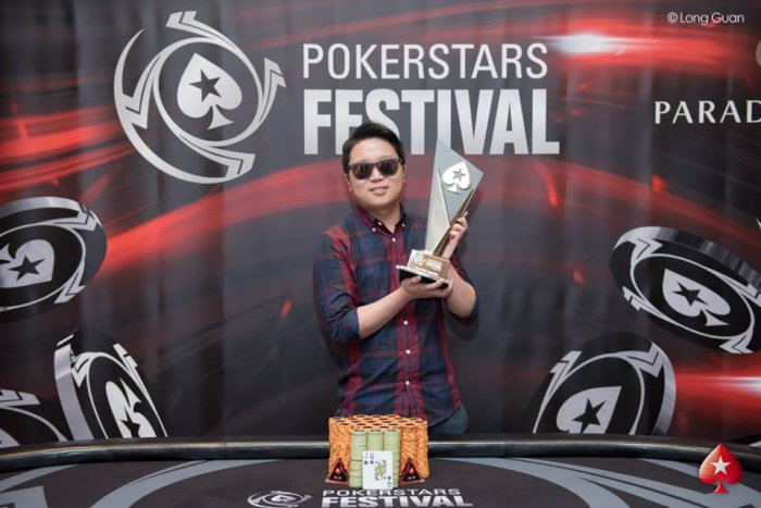 Taehoon Han - Photo Long Guan courtesy of PokerStars