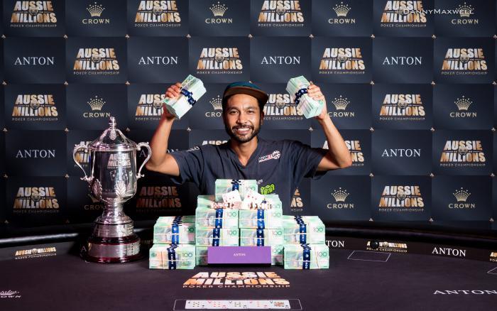 Poker winnings 2018
