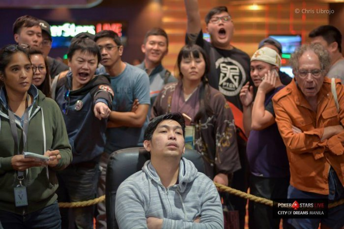 John Tech Manila Megastack 6 - Photo Chris Liobrojo Courtesy of PokerStars
