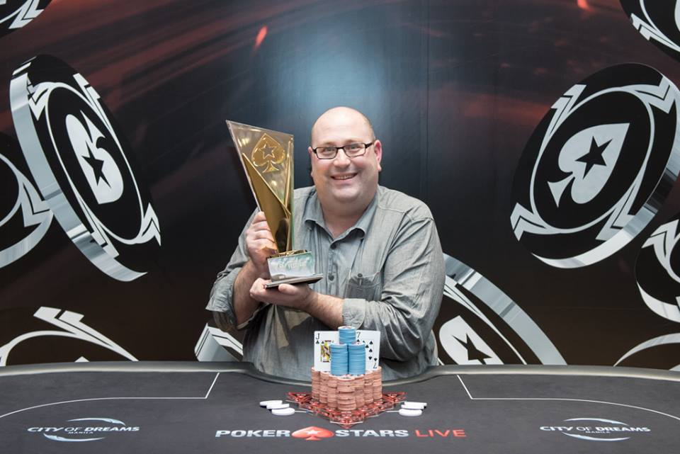 Peter Plater - Photo Long Guan Courtesy of PokerStars