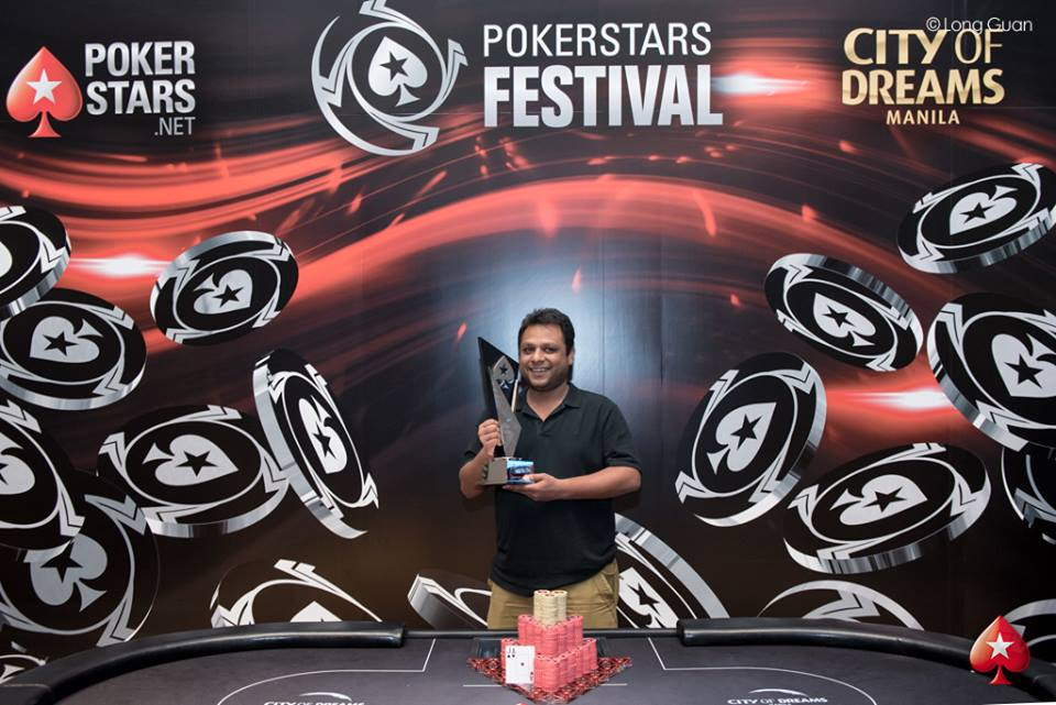 Uday Bansal - Photo Long Guan Courtesy of PokerStars