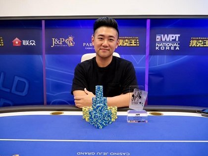 WPT Korea early winners: Bryan Huang for the High Rollers and Kazuki Ikeuchi wins two