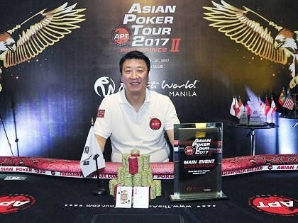 APT Philippines II: Korea's Sung Ho Kim wins the Main Event; Pros win side events
