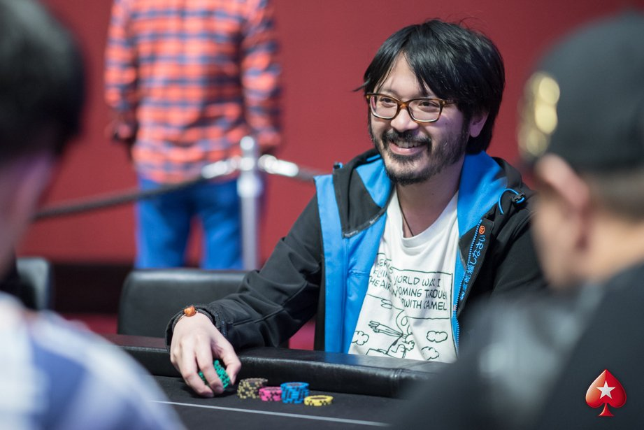 Sparrow Cheung - Photo PokerStars Live Macau