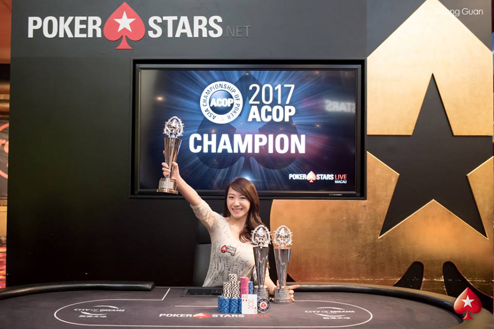 Celina Lin - Photo Long Guan Courtesy of PokerStars
