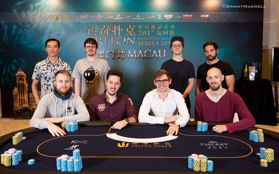 Final Table - Photo Triton Poker - Danny Maxwell
