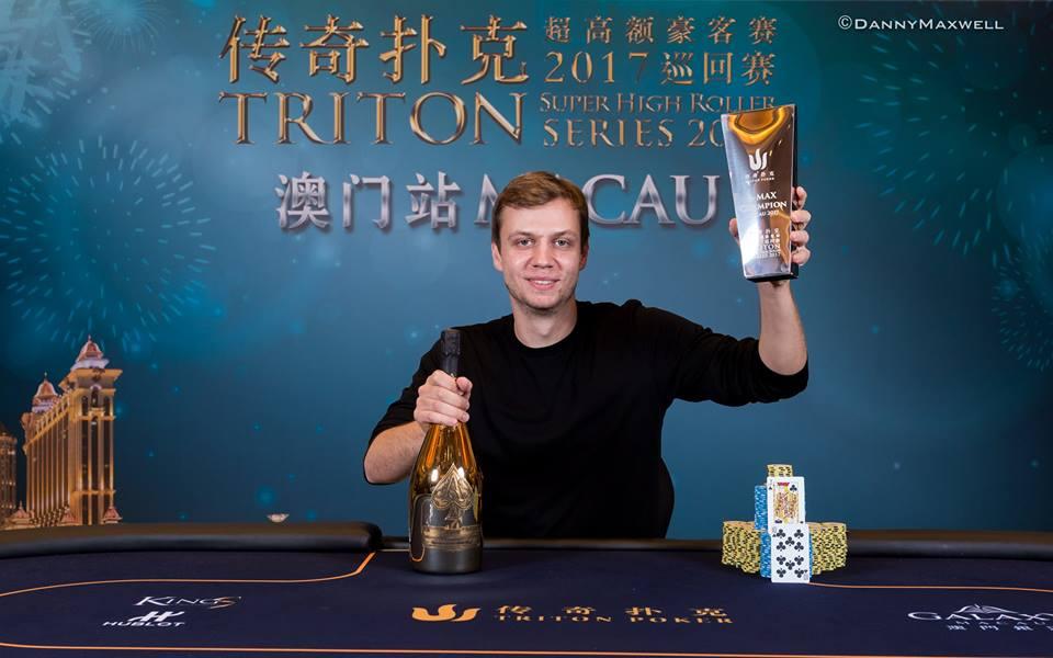 Stefan Schillhabel - Photo Triton Poker
