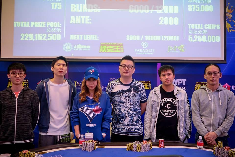 WPT Korea Final Table