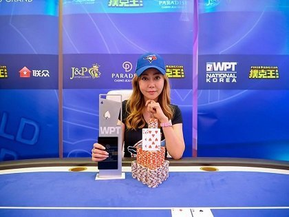 Jessica Bian Hong Yang wins first-ever title at the WPT Korea Main Event