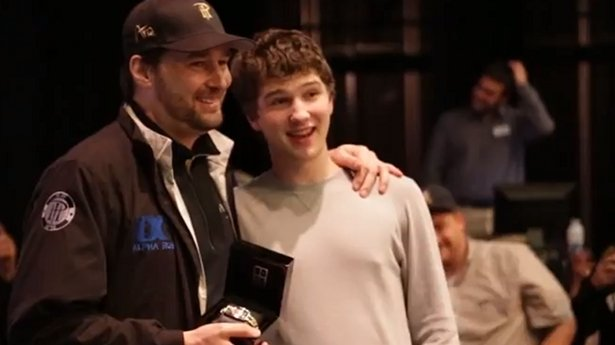Phil Hellmuth & his Son Philip Hellmuth III