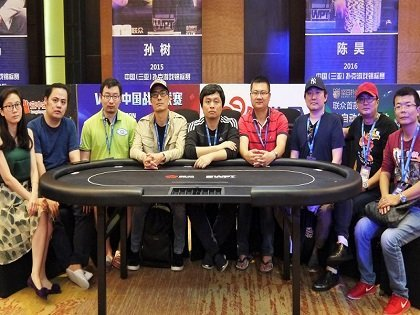 Meet your WPT Sanya Final 9