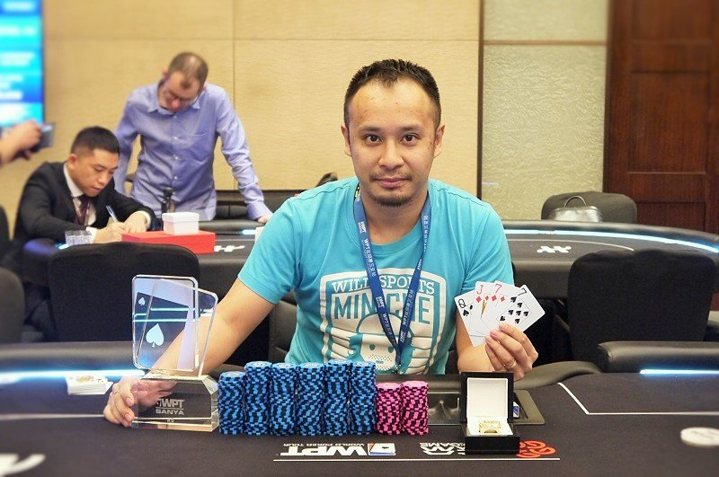 Zhang Li Min - Pot Limit Omaha