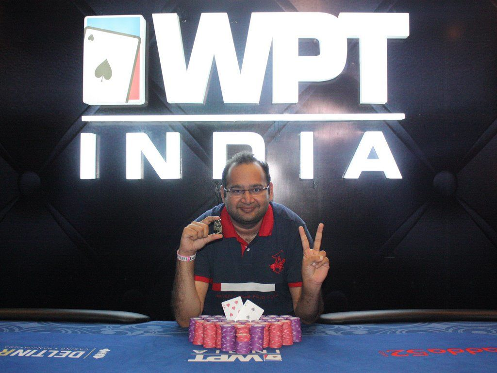 Vikash Mantri - Photo WPT