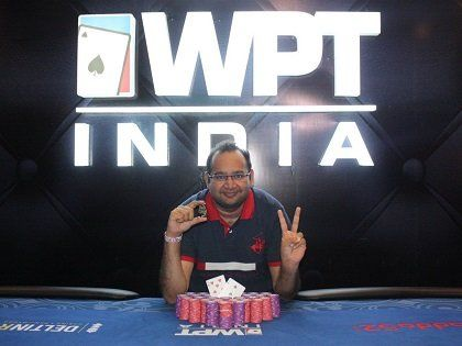 Vikash Mantri Wins the first Edition of WPT India