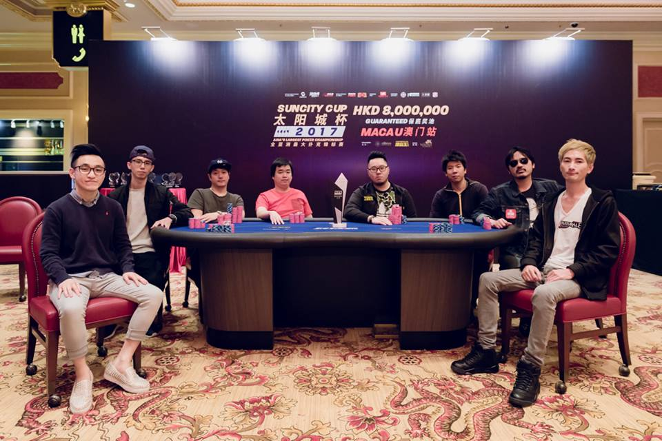 Final Table Suncity Cup 2017 - Photo PKC
