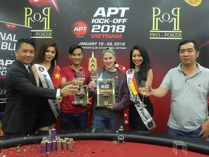 Asian Poker Tour concludes record-breaking season opener in Vietnam