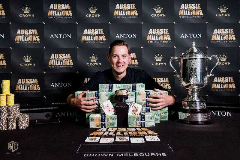 Toby Lewis - Photo Crown Poker