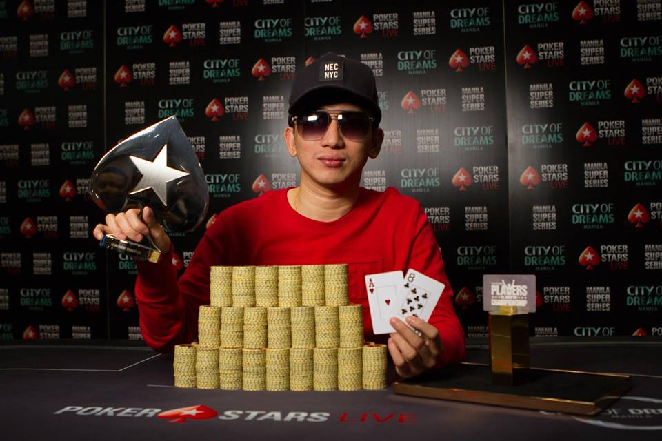 Mike Takayama - Photo PokerStars Live Manila