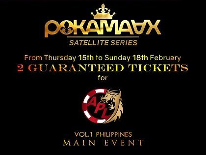 Qualify for free on PokamAAx for the APL Road Series Main Event