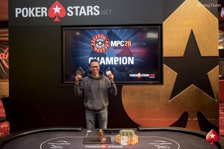 Sandhy Rafael Sitepu - Photo Long Guan Courtesy of PokerStars