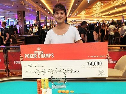 Aussie Briefs: Alex Lee wins Perth Poker Champs; APL Million begins; Aussie Millions 2019