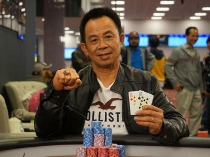 David Pham takes down the WSOP Los Angeles Circuit Main Event for US$216,790