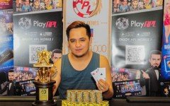 Lester Edoc Main Event Winner Champion