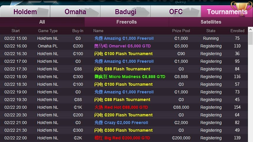J88poker-tournaments