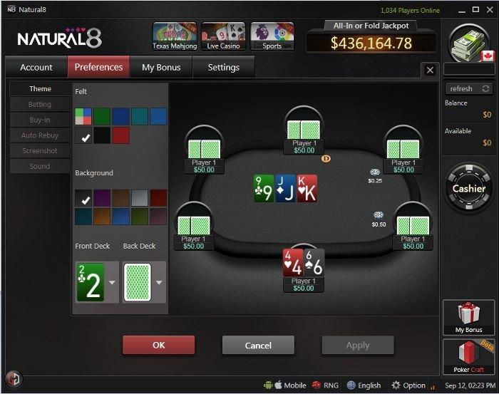 natural8-poker-settings