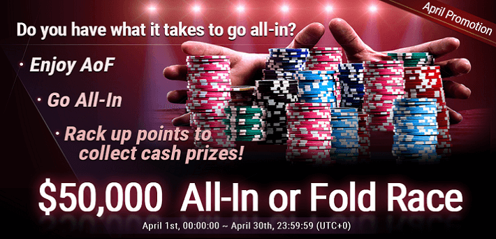 Join The 50000 All In Or Fold Race At Breakout Poker