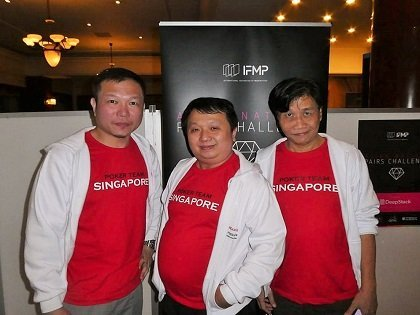 Match Poker: Lau Heng Seng leads team Singapore to victory in Bangkok