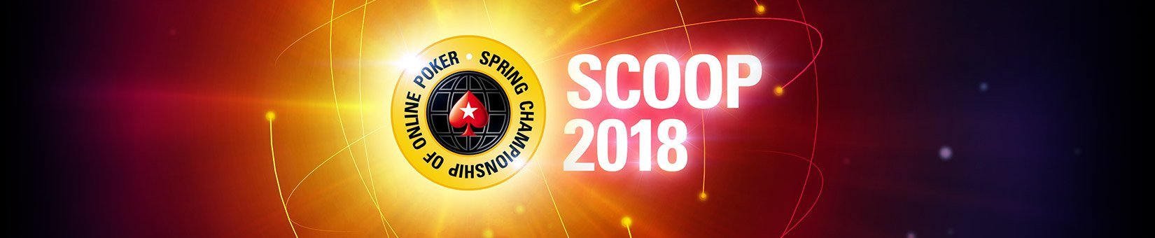 SCOOP 2018 by PokerStars: Complete Schedule
