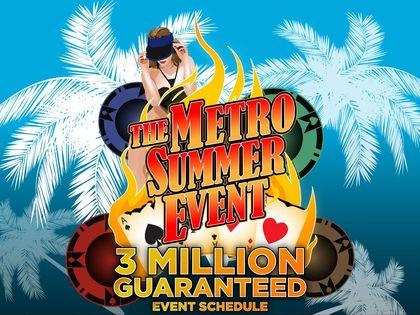 Metro Summer Event Schedule