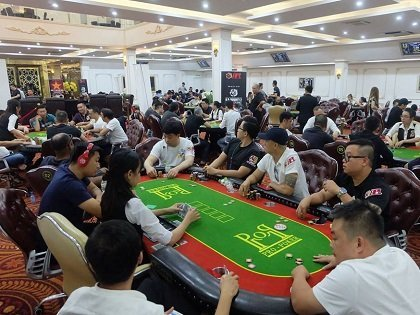 The Asia Poker League attracts large field in Vietnam; International players dominate locals