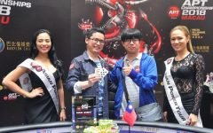 APT Main Event Macau Champion 420